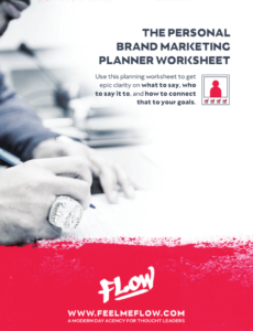 Personal Brand Marketing Planner