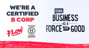 We're A Certified B Corp