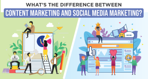 What's the Difference Between Content Marketing and Social Media Marketing?