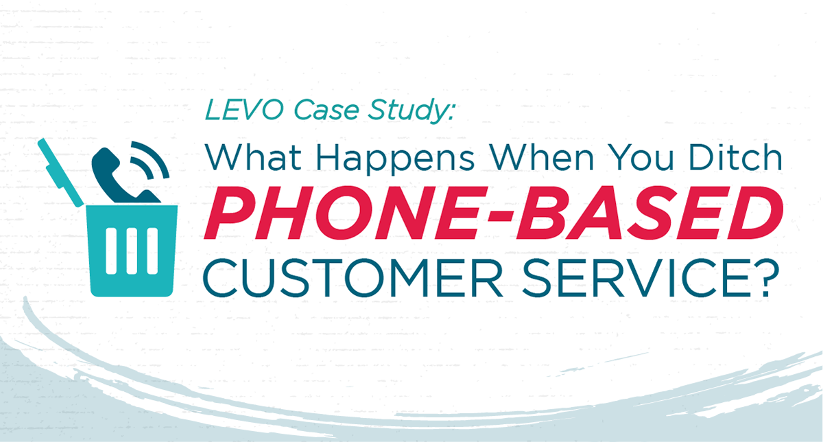 LEVO Case Study: What Happens When You Ditch Phone-Based Customer Service?